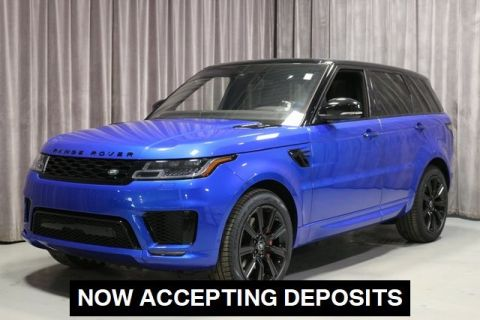 Certified Pre-Owned 2020 Land Rover Range Rover Sport HST